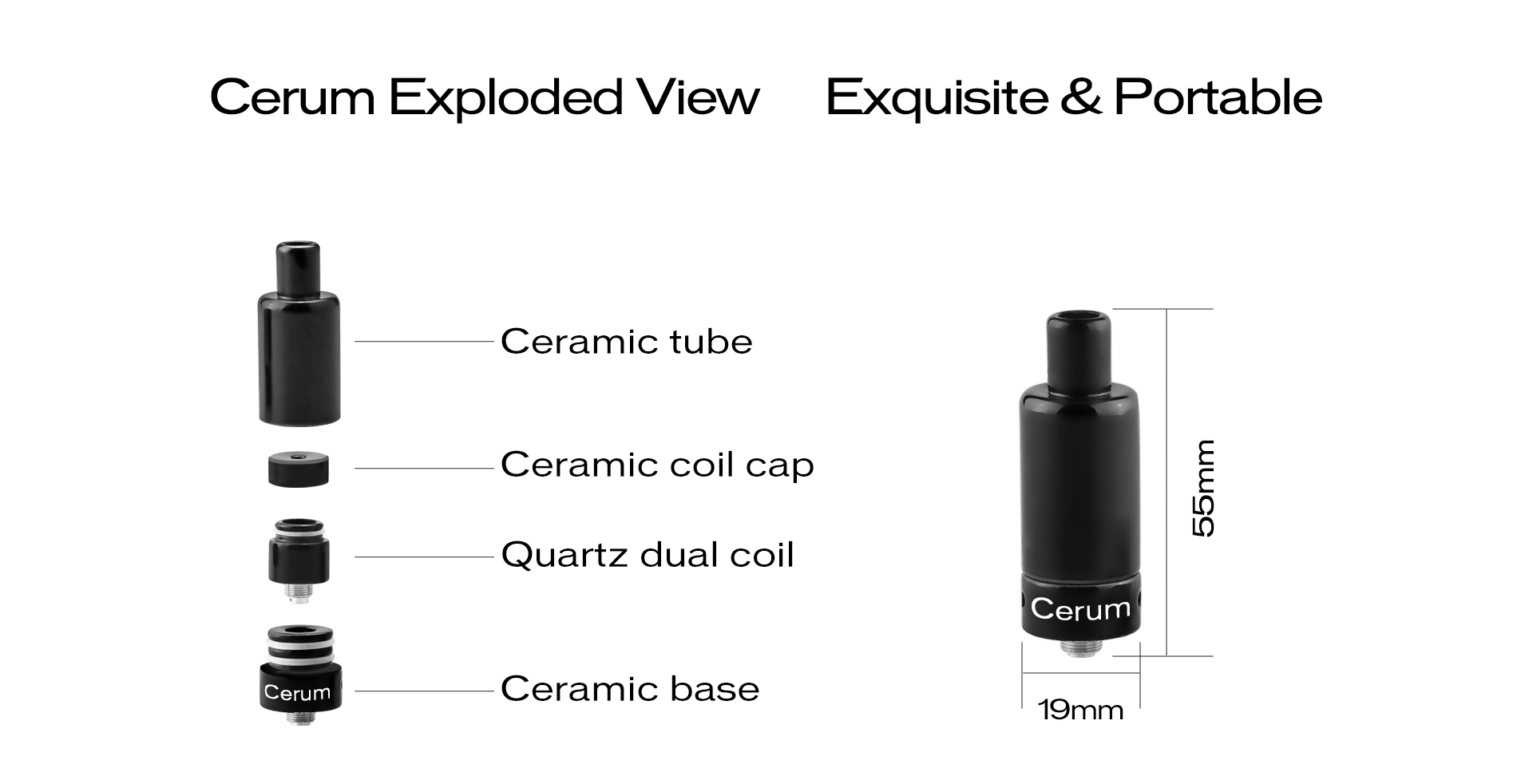 Yocan Cerum All Parts